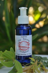 Organic Chest Rub Oil