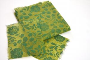 Gift Paper Green silk design