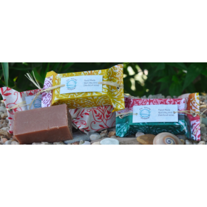 Red clay & Patchouli soap