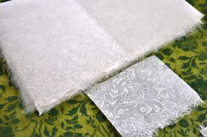 Gift Paper silk floral design